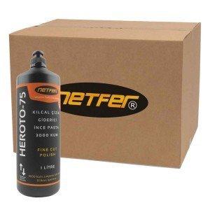 Netfer Heroto-75 Kılcal Çizik Giderici Pasta – Koli – 12×1 LT