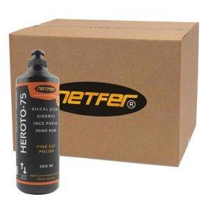 Netfer Heroto-75 Kılcal Çizik Giderme Pastası – Koli – 20×500 ML