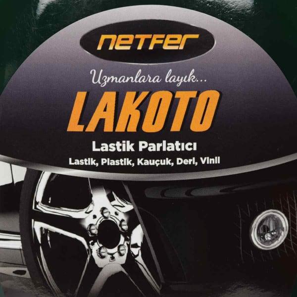 Netfer Lakoto Konsantre Lastik Parlatıcı Koruyucu