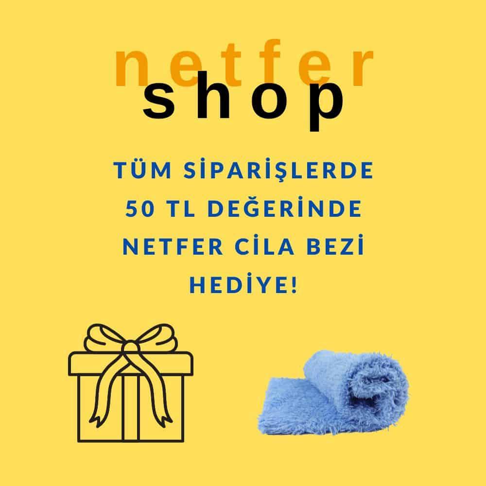 Netfershop siparişlerine cila bezi hediye!